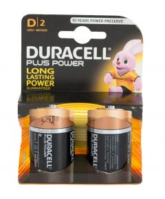Pack of 4 Duracell D Batteries