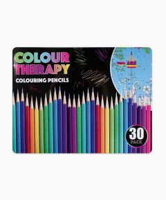 Colour Therapy Colouring Pencils in a Tin