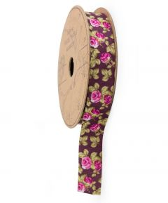 Stitch and Sew Floral Adhesive Ribbon 2M