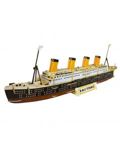 Quay DIY Woodcraft Construction Kits Titanic