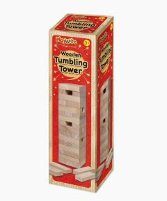 Playwrite Wooden Tumbling Tower Game