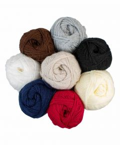 Double Knitting Acrylic Yarn - Basic