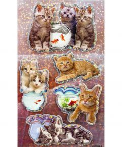 3D Stickers Cat