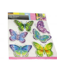Laser Butterfly Wall Stickers