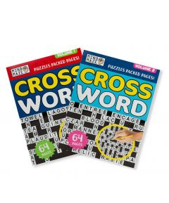 A4 Crossword Puzzles Pack of 2