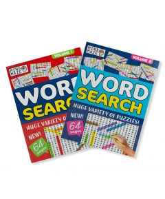 A4 Wordseach Puzzles Pack of 2