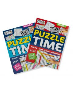 A4 Puzzle Time Pack of Two