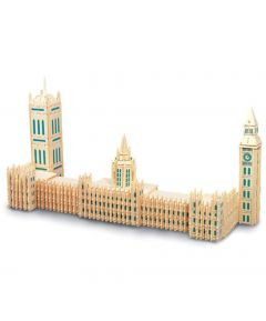 Quay DIY Woodcraft Construction Kits Houses Of Parliament