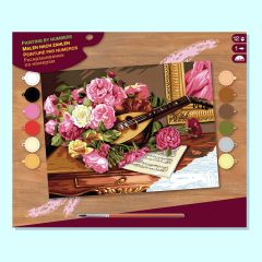 Painting By Numbers - Romantic Bouquet