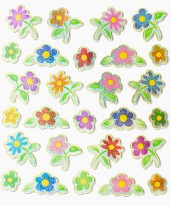 Adhesive Flower Stickers
