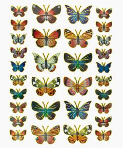 Adhesive Butterfly Stickers