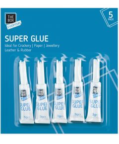 Superglue pack of 5