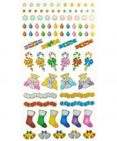 Xmas Decoration Stickers
