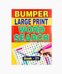 Bumper Large Print Word Search