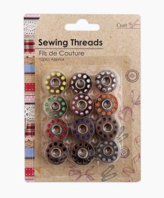 Metal Spool Sewing Threads