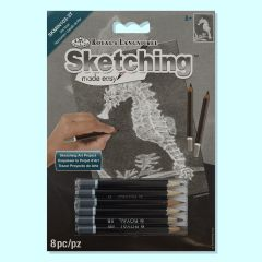 Sketching Made Easy - Seahorse