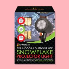 Snowflake Projector Light