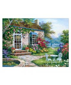 Painting by Numbers - Spring Patio
