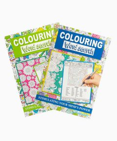 Word Search and Colouring A4 - Set of 2