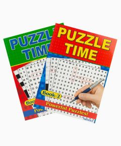 Puzzle Time Book - Set of 2