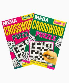 Crossword Mega A5 - Set of 2