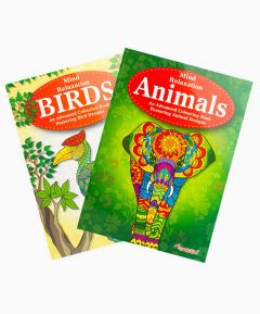 Colouring Books Mind Relaxation - Set of 2