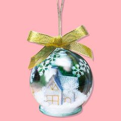 Colour Changing Christmas Bauble