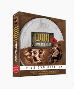 WWI Commemoration 5 DVD Gift Tin