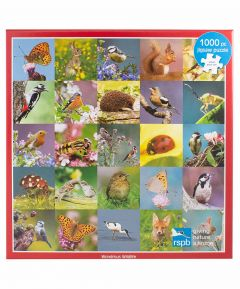 RSPB Jigsaw Wondrous Wildlife 1000pcs