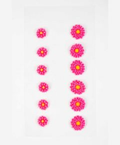 Pack of 12 Flower Embellishments