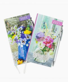 2021 Floral Diary & Pen