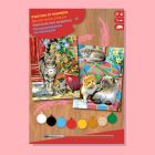 Painting By Numbers - Cats Twinpack