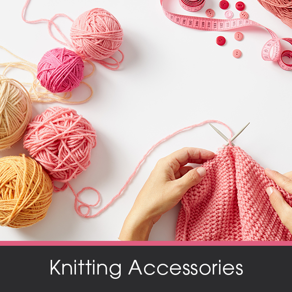 Shop our range of knitting accessories