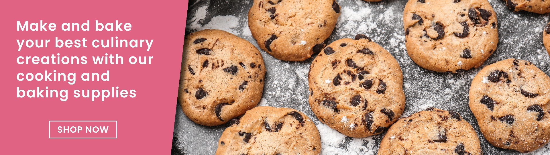 Make and bake your best culinary creations with our cooking and baking supplies
