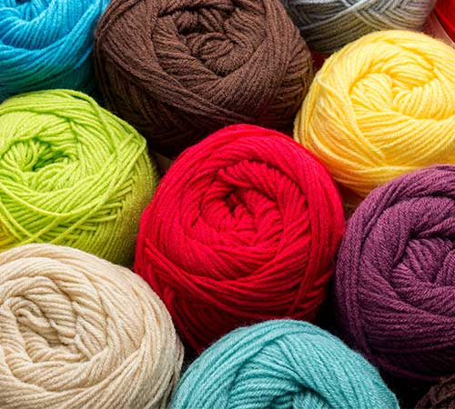 Knitting and Crochet Wool